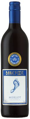Gallo Barefoot Merlot 75 cl. - Alc. 13,5% Vol.