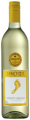 Gallo Barefoot Pinot Grigio 75 cl. - Alc. 12% Vol.