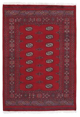 Carpet 2 Ply Bokara Red 300x200 cm.