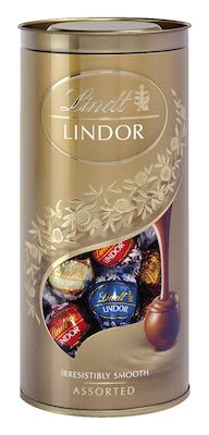 Lindt Assorted Lindor Ball Tube 400 g