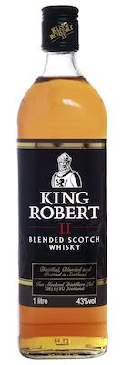 King Robert ll, 100 cl. - Alc. 43% Vol.