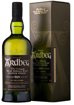 Ardbeg 10 YO, 100 cl - Alc. 46% Vol. In gift box. Islay.