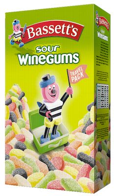 Bassetts Sour Winegums 800g