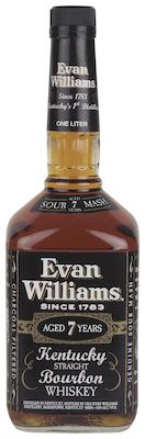 Evan Williams Black, 100 cl. - Alc. 43% Vol.