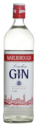 Marlborough Gin 100 cl. - Alc. 37.5% Vol.