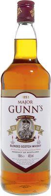 Major Gunns Scotch Whisky, 100 cl. - Alc. 40% Vol.