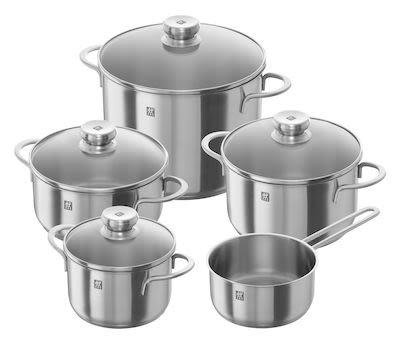 Zwilling 9-pcs Twin Nova Cookware Set