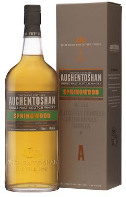 Auchentoshan Springwood, 100 cl. - Alc. 40% Vol. In gift box. Lowland.