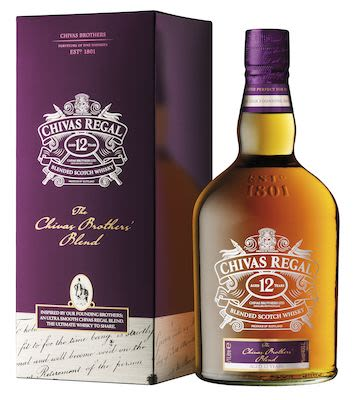 Chivas Regal Brothers 12 YO, 100 cl. - Alc. 40% Vol. In gift box.