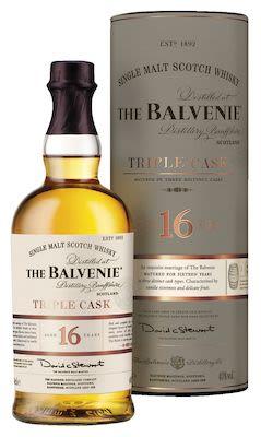 The Balvenie Triple Cask 16 YO, 70 cl. - Alc. 40% Vol. In gift box. Speyside.