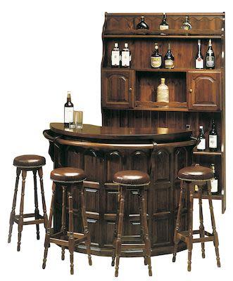 Home Bar, walnut finish