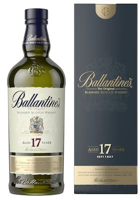 Ballantine's 17 YO, 70 cl. - Alc. 40% Vol. In gift box.