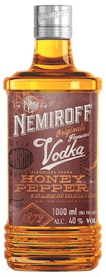 Nemiroff Honey Pepper 100 cl. - Alc. 40% Vol.