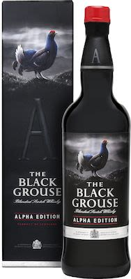 The Black Grouse Alpha Edition, 70 cl. - Alc. 40% Vol. In gift box.