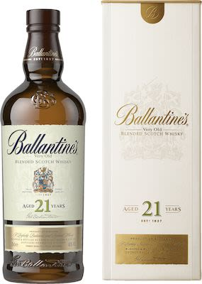 Ballantine's 21 YO, 70 cl. - Alc. 40% Vol. In gift box.