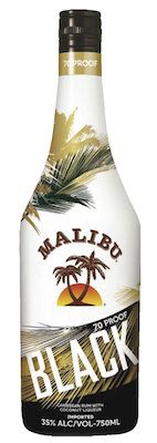 Malibu Black 100 cl. - Alc. 35% Vol.