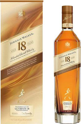 Johnnie Walker Platinum 18 Years Old 100 cl. - Alc. 40% Vol. In gift box.