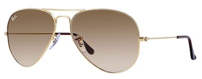 Ray-Ban Gent's Icons Aviator Classic Sunglasses