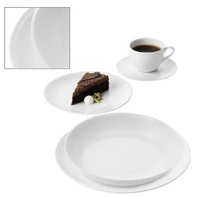Aida 20 pcs Relief Dinner Set