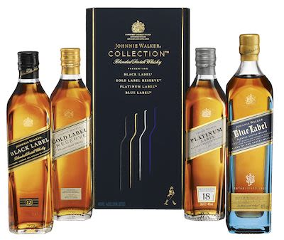 Johnnie Walker The Collections, 4x20 cl. - Alc. 43% Vol. In gift box.