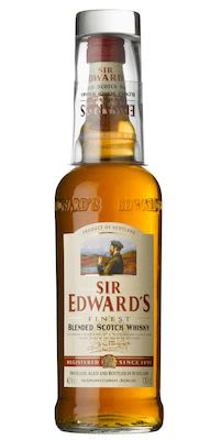 Sir Edward's Scotch Whisky w/ Glass, 100 cl. - Alc. 40% Vol.
