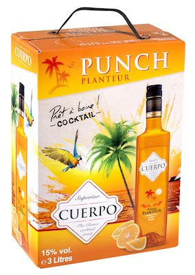 Cuerpo Punch Planteur BIB 300 cl. - Alc. 15% Vol.