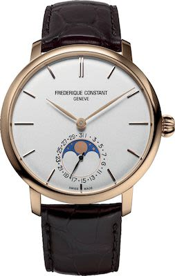 FC Gent's Slimline Moonphase Manufacture Watch
