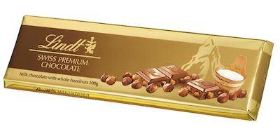 Lindt Tafel Gold Milk Hazelnuts 300 g
