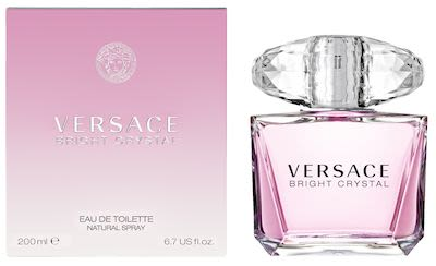 Versace Bright Crystal EdT 200 ml