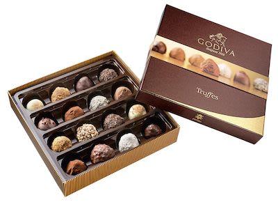 Godiva Truffles 230 g