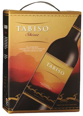 Tabiso Shiraz BIB 300 cl. - Alc. 13.5% Vol.