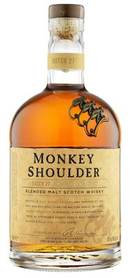 Monkey Shoulder Blended Malt Whisky, 100 cl. - Alc. 40% Vol.