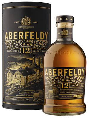 Aberfeldy 12 YO, 100 cl. - Alc. 40% Vol. In gift box. Highland.
