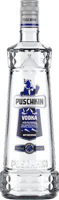 Puschkin Vodka 100 cl. - Alc. 40% Vol. In gift box.