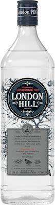 London Hill Dry Gin 100 cl. - Alc. 43% Vol.