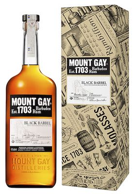 Mount Gay Black Barrel 100 cl. - Alc. 43% Vol.