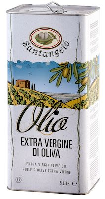 Santangelo Extra Virgin Olive Oil 5 litre in tin-can.