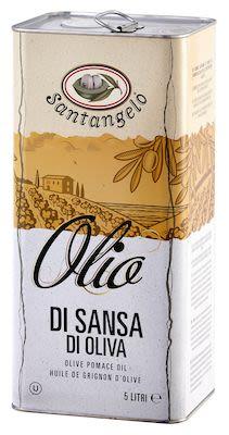 Santangelo Olive Pomace Oil 5 litre in tin-can.