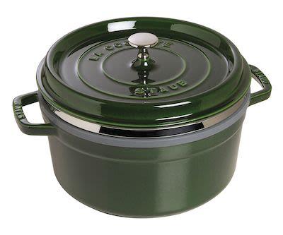 Staub Round Cocotte w/ Steamer 5.2 ltr/26 cm Green