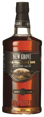 New Grove Old Tradition Rum 5 YO 70 cl. - Alc. 40% Vol. In gift box.