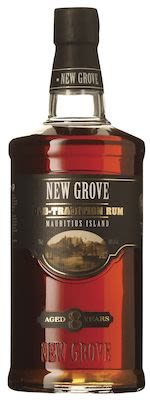 New Grove Old Tradition Rum 8 YO 70 cl. - Alc. 40% Vol. In gift box.