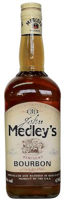 John Medley's Kentucky Bourbon, 100 cl. - Alc. 40% Vol.
