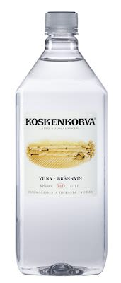 Koskenkorva Viina 100 cl. - Alc. 38% Vol.