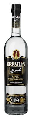 Kremlin Award Vodka 50 cl. - Alc. 40% Vol.
