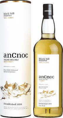 AnCnoc Black Hill Reserve, 100 cl. - Alc. 46% Vol. In gift box. Highland.