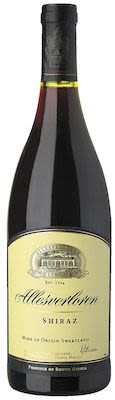 Allesverloren Shiraz 75 cl. - Alc. 14,5% Vol.