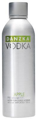 Danzka Apple Aluminum Bottle 100 cl. - Alc. 40% Vol.