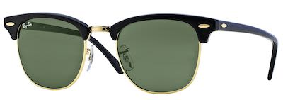 Ray-Ban Gent's Icons Clubmaster Classic Sunglassess