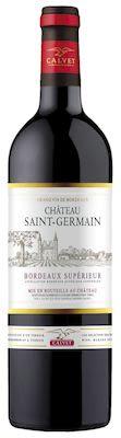 Château Saint Germain Bordeaux Supérieur 75 cl. - Alc. 14% Vol.