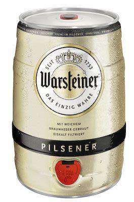 Warsteiner Premium Keg 2x500 cl. - Alc. 4.8% Vol.